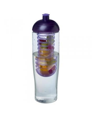 Bidon et infuseur H2O Tempo® 700ml avec couvercle dôme