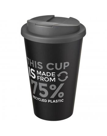 Gobelet Americano® Eco recyclé de 350ml avec couvercle anti-déversement
