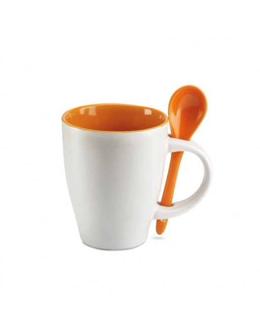 Mug avec cuillère 250 ml